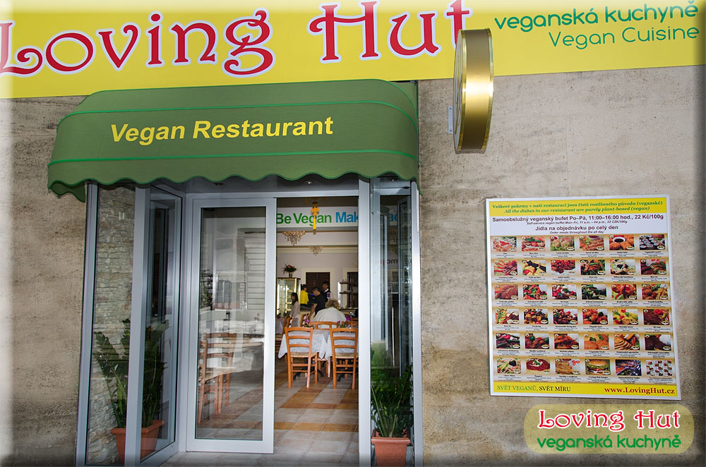 Loving Hut best vegan restaurant in Prague